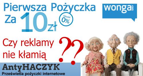 Recenzja Wonga.pl na Antyhaczyku - http://antyhaczyk.blogspot.com
