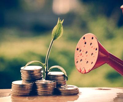 konewka i pieniądze