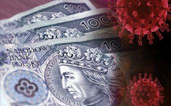 wirus na pieniądzach
